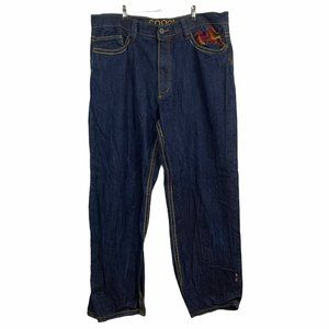 COOGI   Dark Relaxed Jeans 42x34